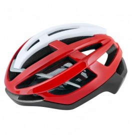 Casco Force Lynx Negro Rojo Blanco