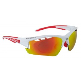 Gafas Force Ride Pro Blanco Rojo