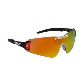 Gafas Force Flash Black Red