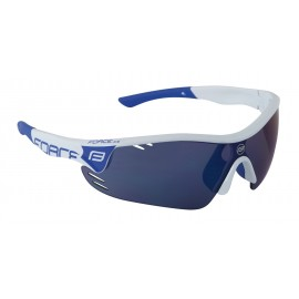 Gafas Force Race  Blanca Azul