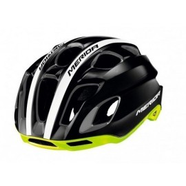 Casco Merida Team Race  Negro-Verde