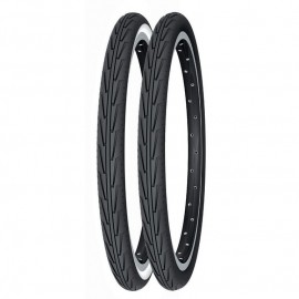 Cubierta Michelin 500a Negro-Blanco
