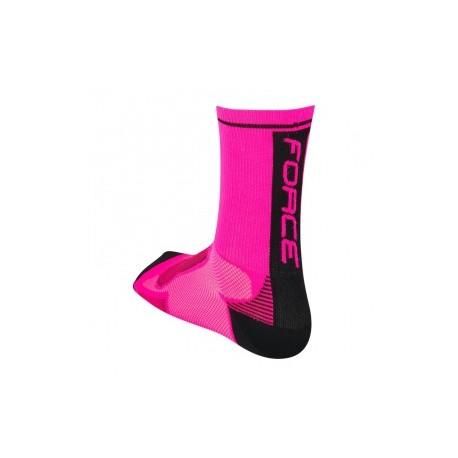 Calzetin Force Long Rosa Fluo - Imagen 1