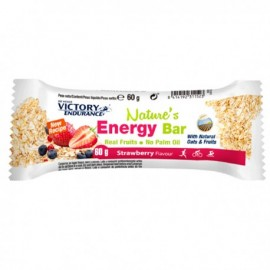 Barrita VictoryEndurance Nature Energybar Fresa 60gr - Imagen 1