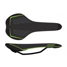 Sillin Merida Sport Negro Verde - Imagen 1