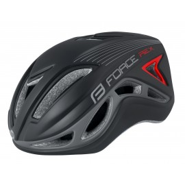 Casco Force Rex Negro Rojo
