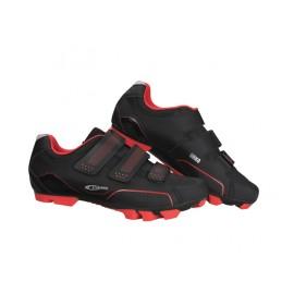 Zapatillas Ges Urko  Negro-Rojo - Imagen 1