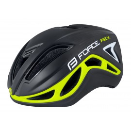 Casco Force Rex Negro Fluo