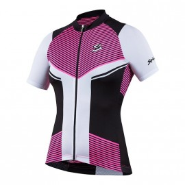 Maillot Spiuk Performance Mujer Negro Rosa - Imagen 1