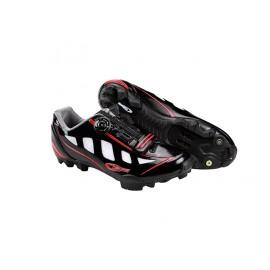 Zapatillas Ges Rider Negro Rojo
