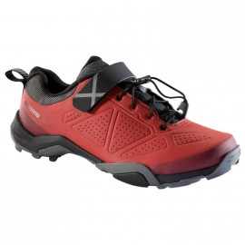 Zapatillas Shimano MT5 Rojo - Imagen 1