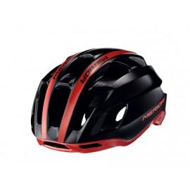 Casco Merida Team Race Negro-Rojo - Imagen 1