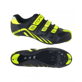 Zapatillas Force Road  Negro Fluo