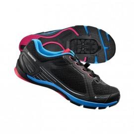 Zapatillas SH-CW41L Negra Rosa - Imagen 1