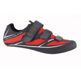 Zapatillas Luck Max Negro-Rojo