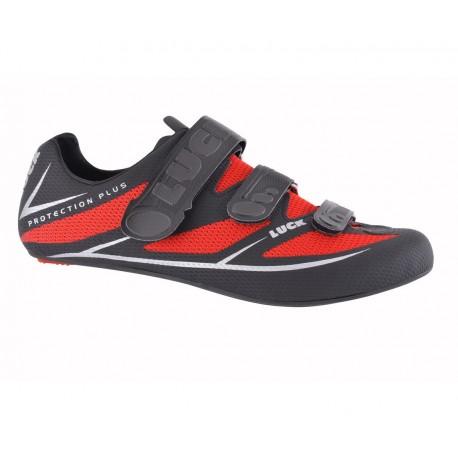 Zapatillas Luck Max Negro-Rojo - Imagen 1