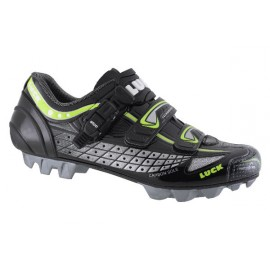 Zapatillas Luck Team  Negra Verde